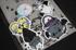 Brewbat Glitter Sticker Image 2