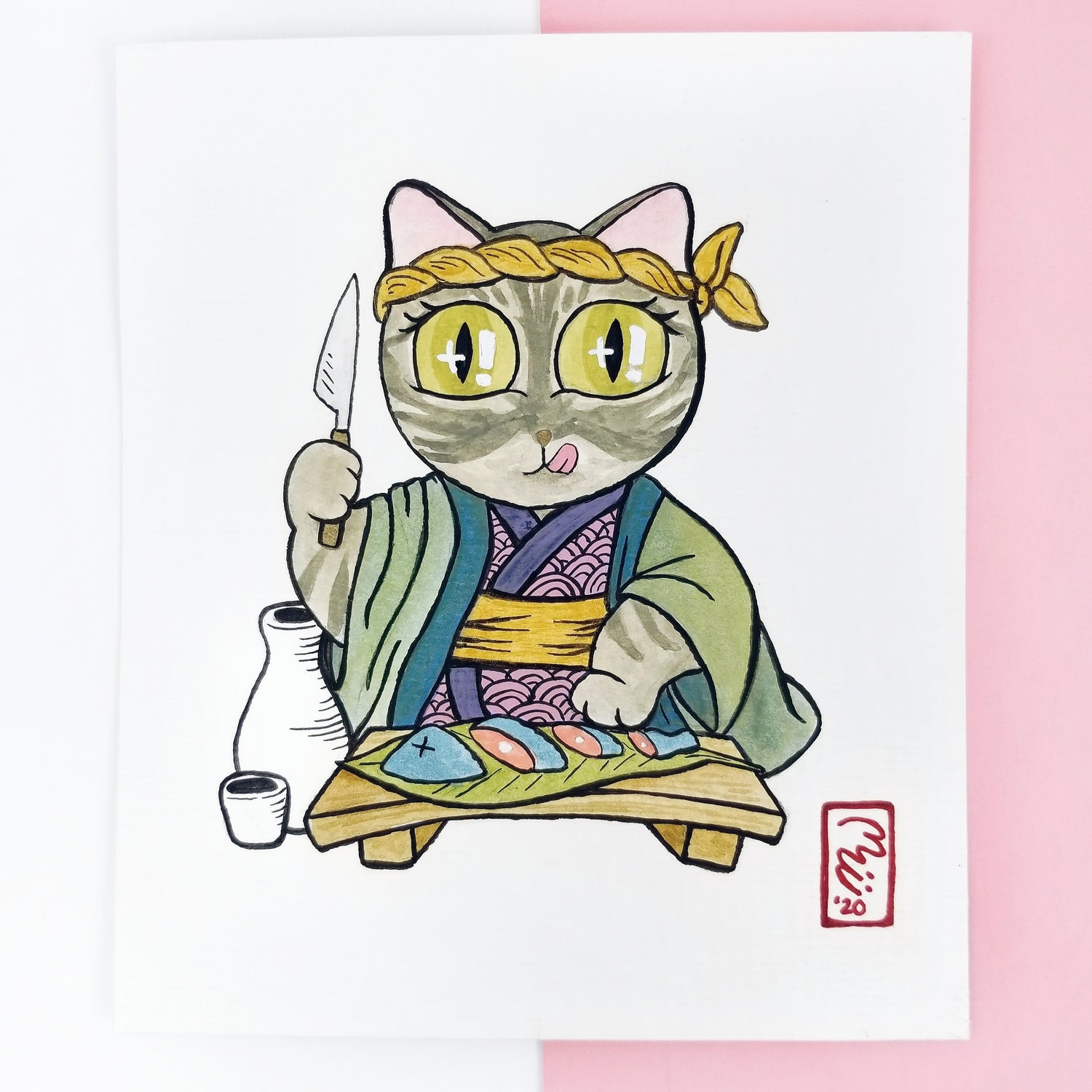 Image of Chef Meowy