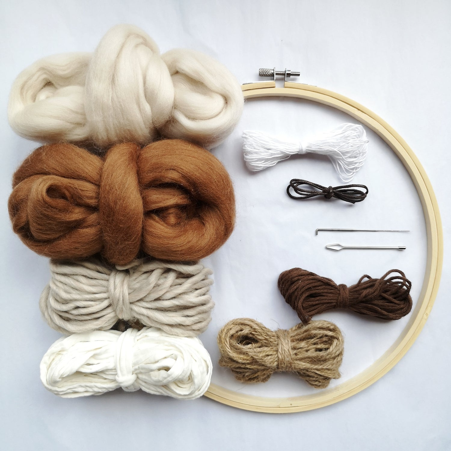 Image of Round weave kit - neutral