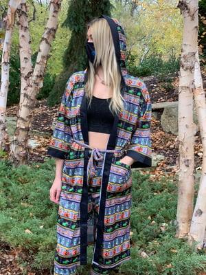 Completely Bonkers - Witches Brew Light Grey Kimono (LE 30)
