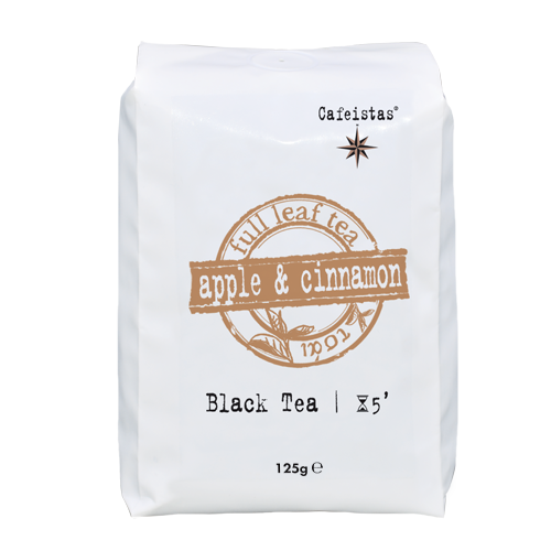 Image of apple & cinnamon - black tea