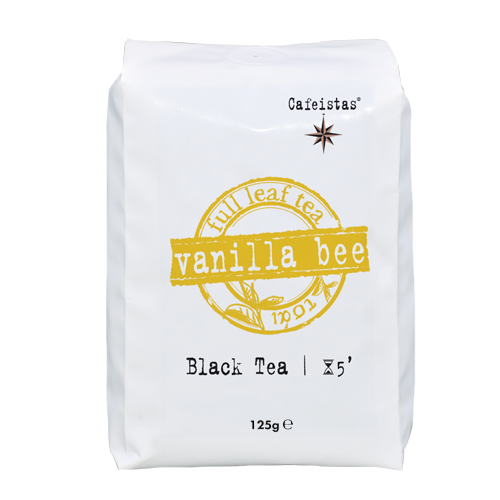 Image of vanilla bee - black tea