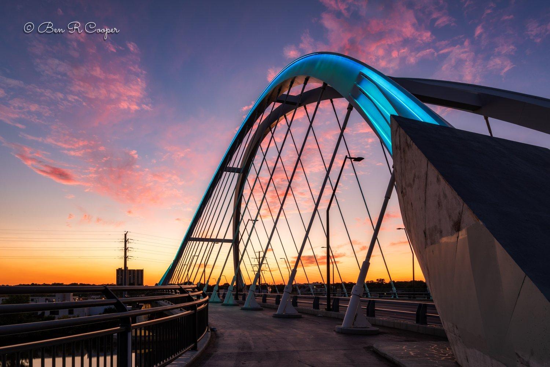 Lowry Bridge in Teal