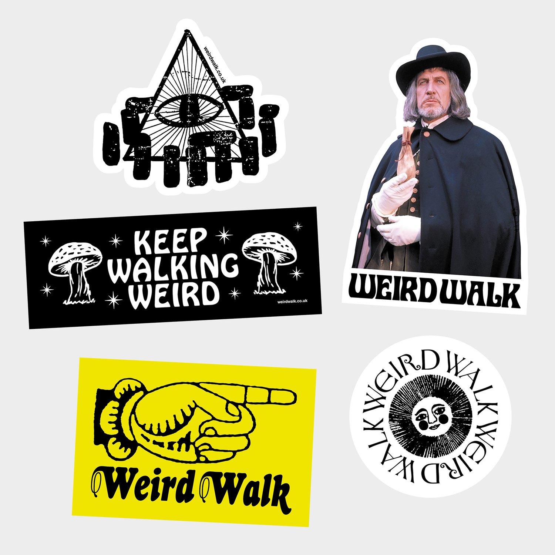 Image of Weird Walk HOPKINS Sticker Pack