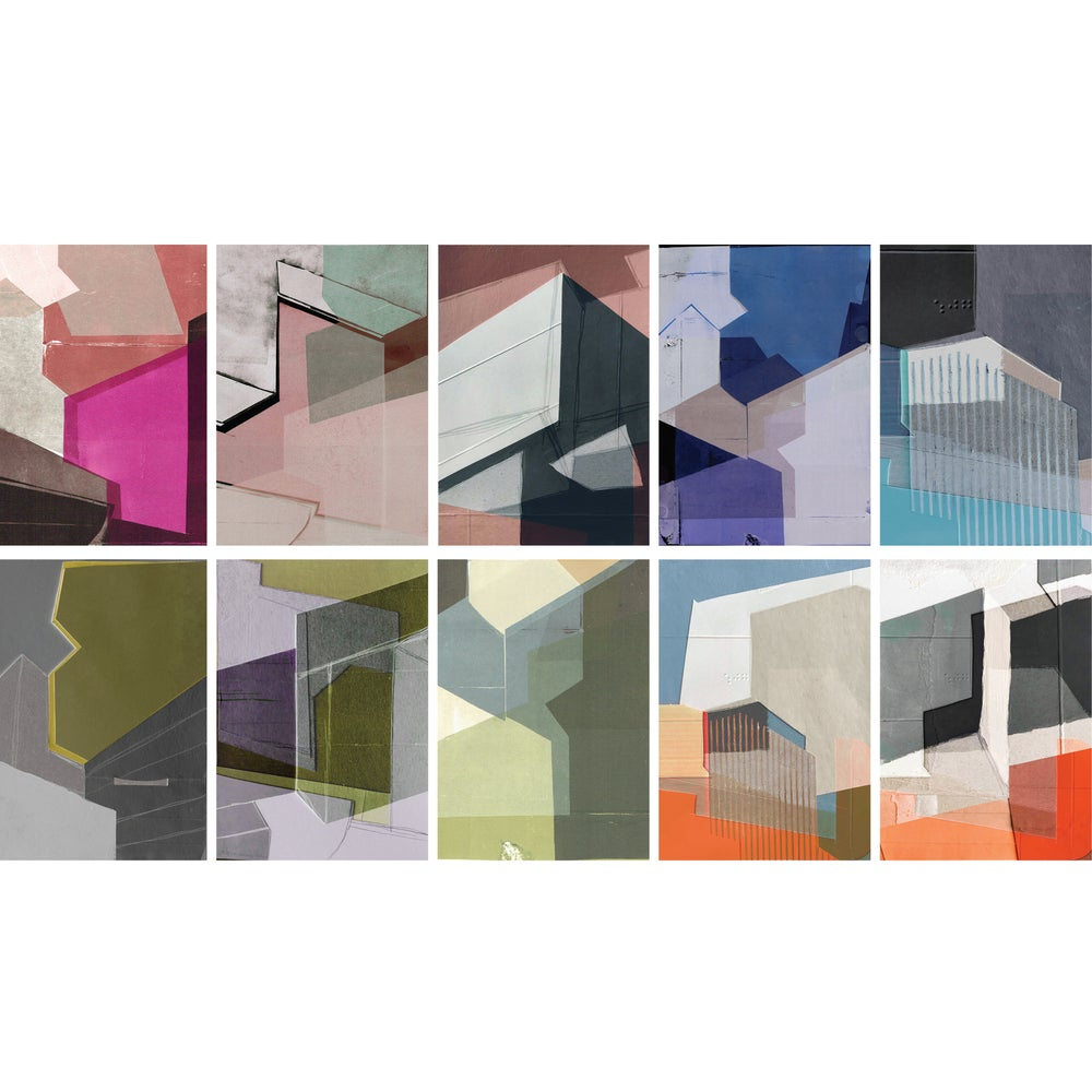 Image of deconstruct set of 10 cards