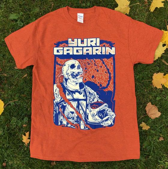 Image of Orange Cosmic Ruin T-Shirt