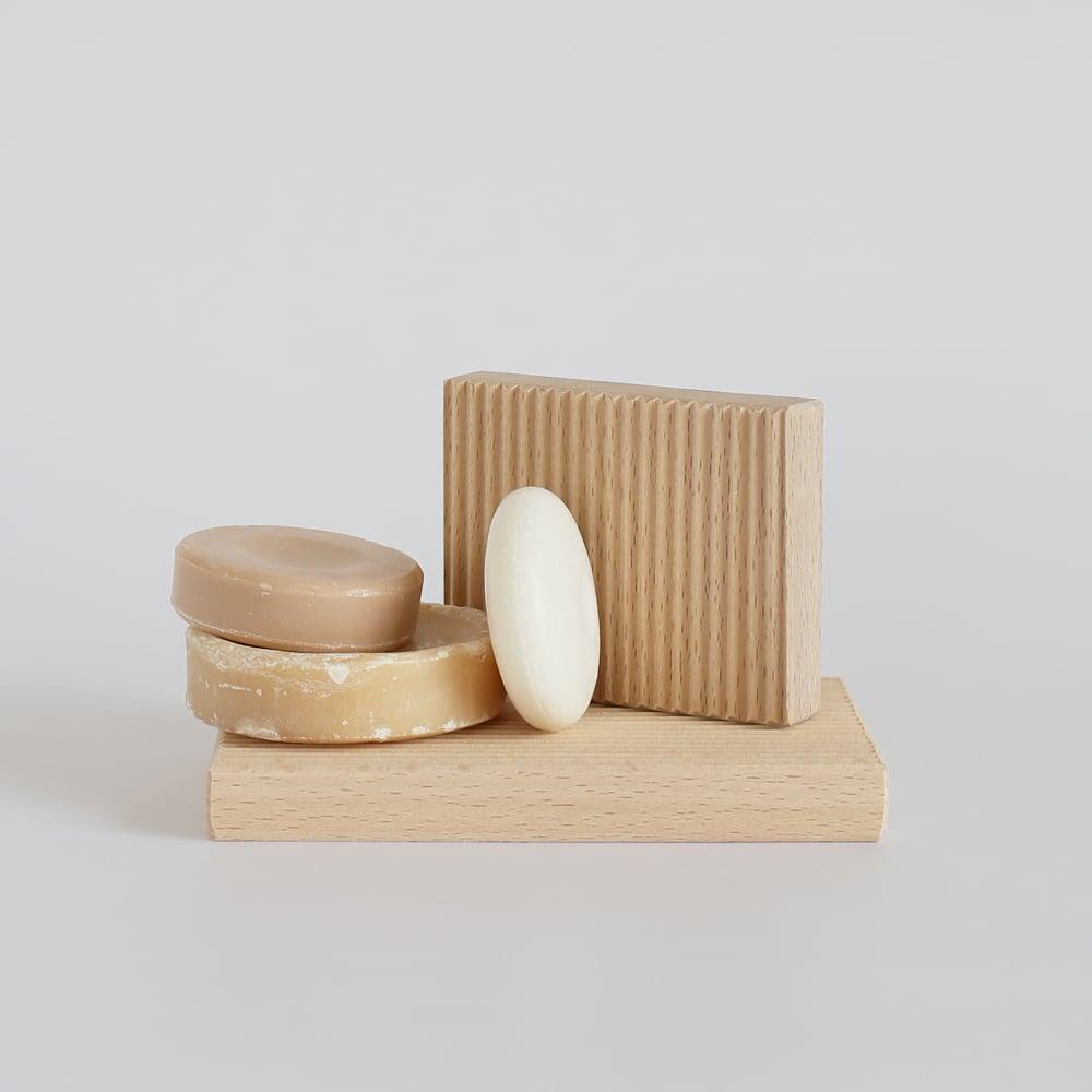 Image of Porte-savon en bois