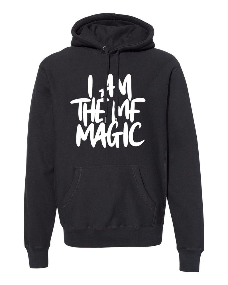 Image of Preorder: I AM THE MF MAGIC Signature Print Premium Hoodie