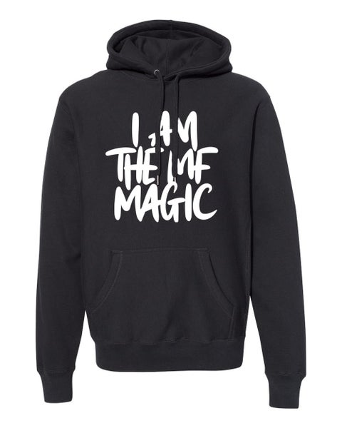 Image of Preorder: I AM THE MF MAGIC Signature Print Premium Hoodie