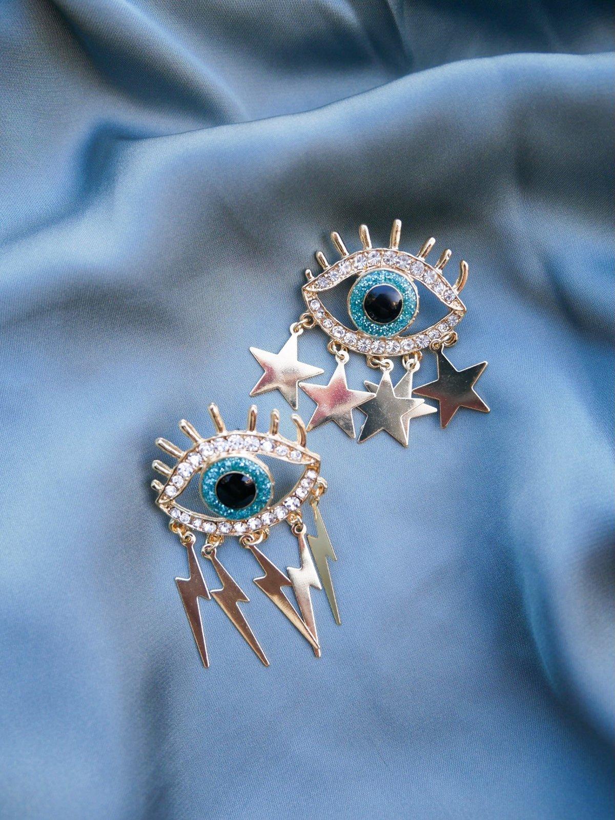 Esme Eye Earrings