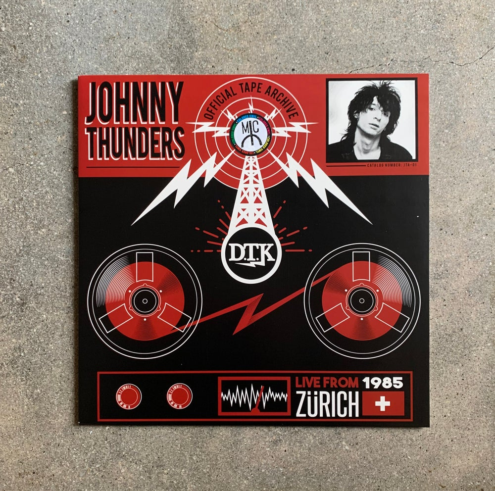 Image of JOHNNY THUNDERS (RED)