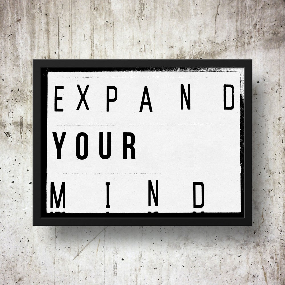 Expand Your Mind Lightbox Quote