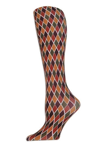 Image of Diamond Rust Tights