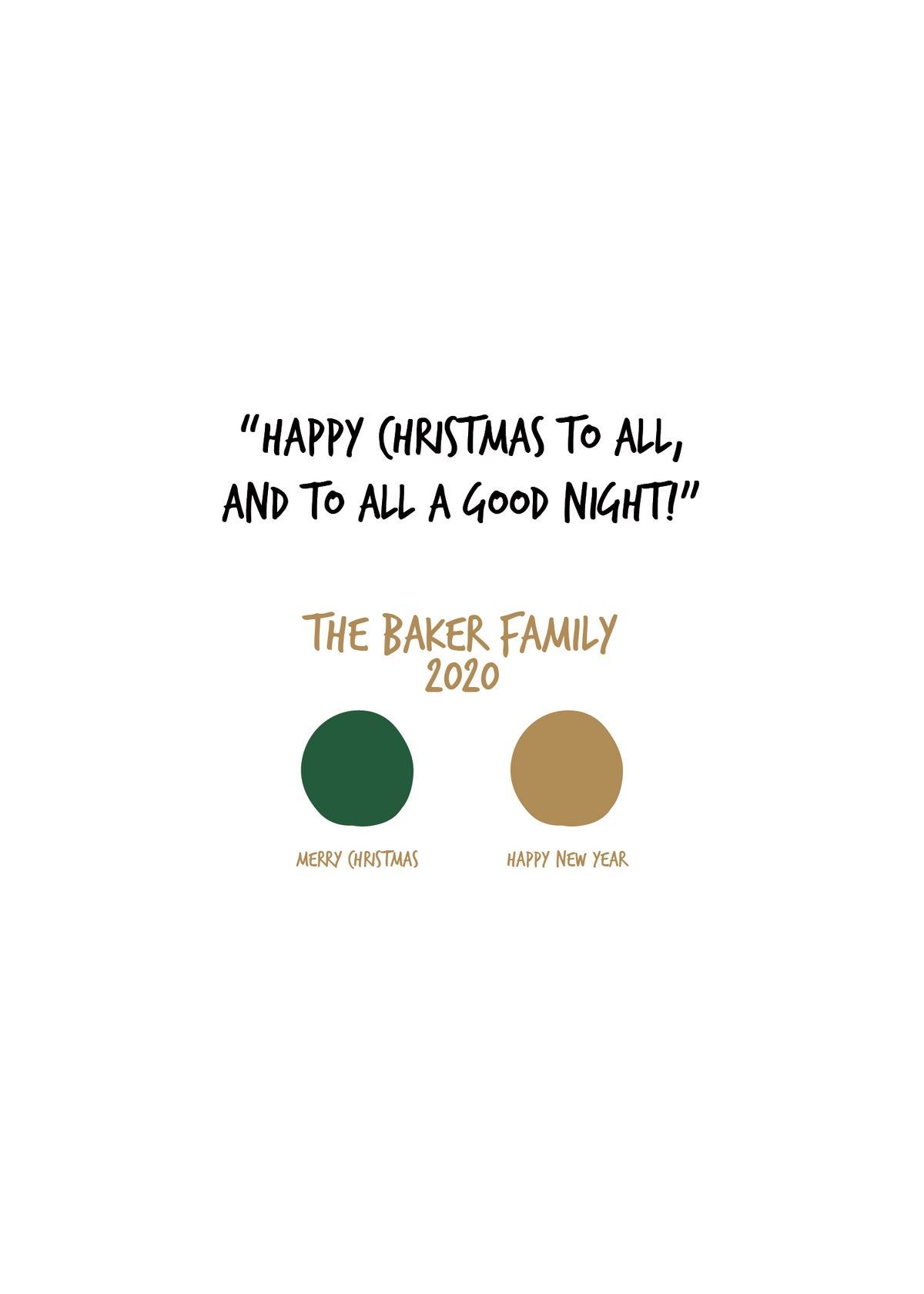 The Color of Twas the Night before Christmas