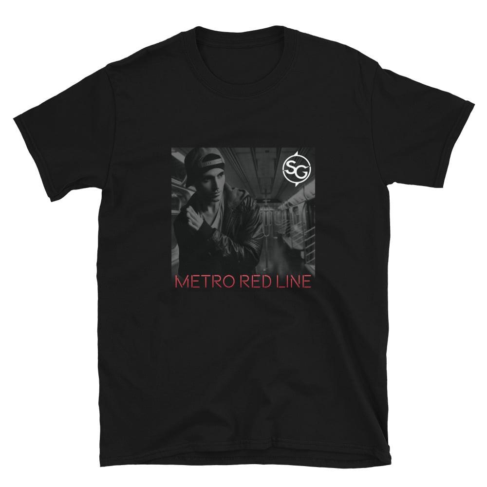 Metro Red Line Artwork T-Shirt