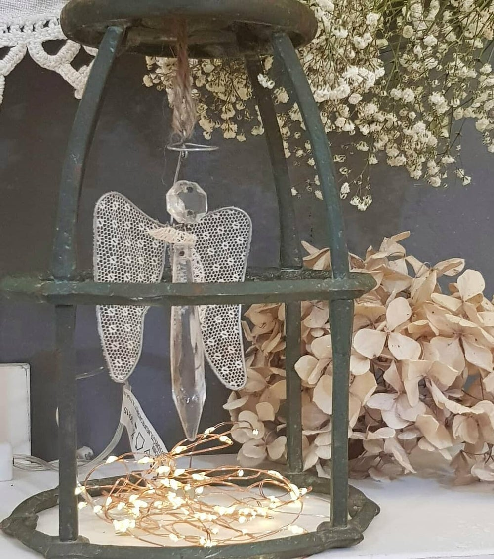Image of Glass Angel Decoration