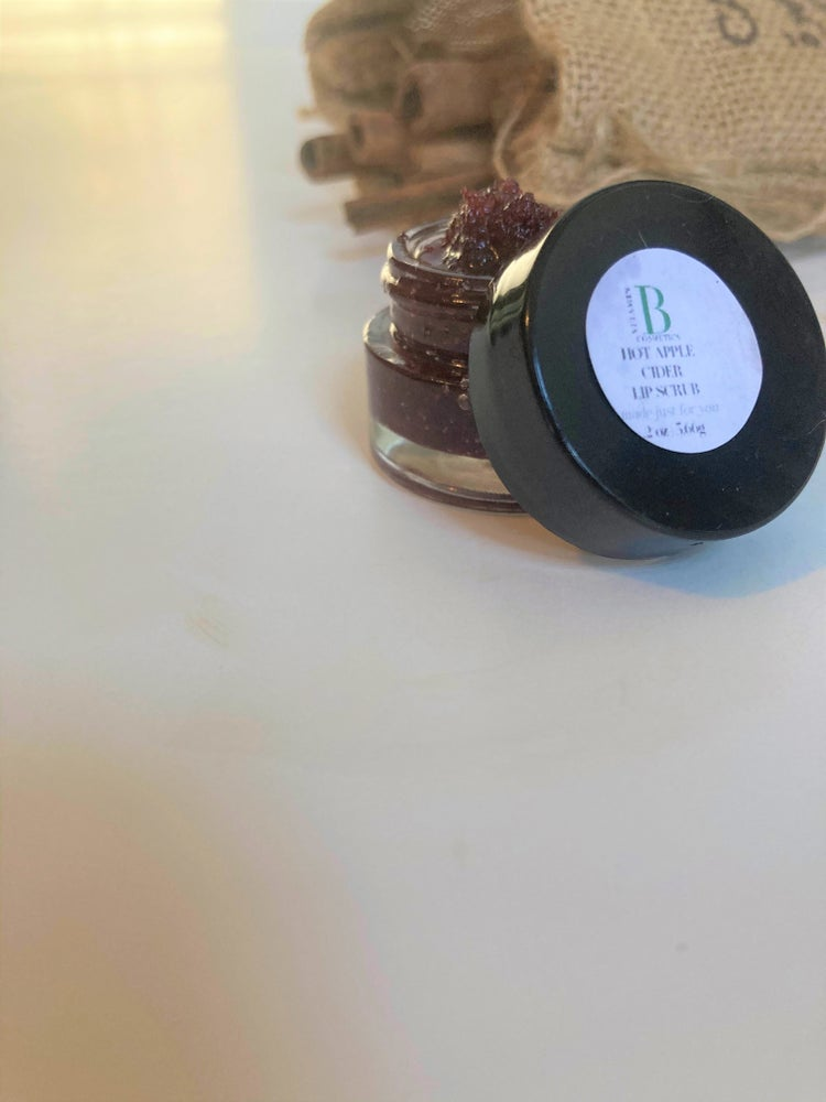 Image of Hot Apple Cider Sugar Lip Scrub