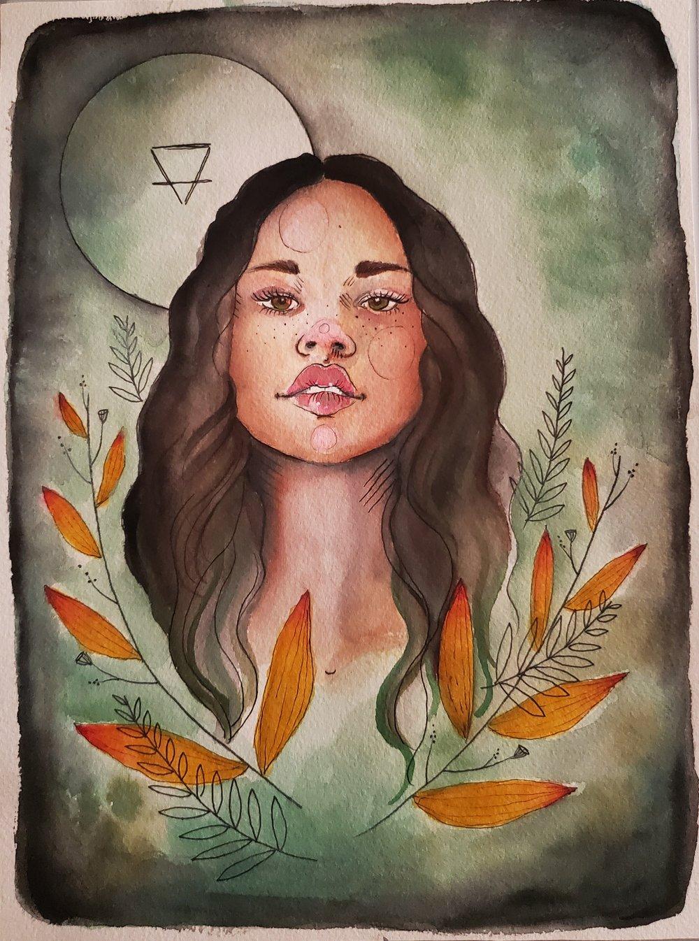 Image of Earth Element Girl Original