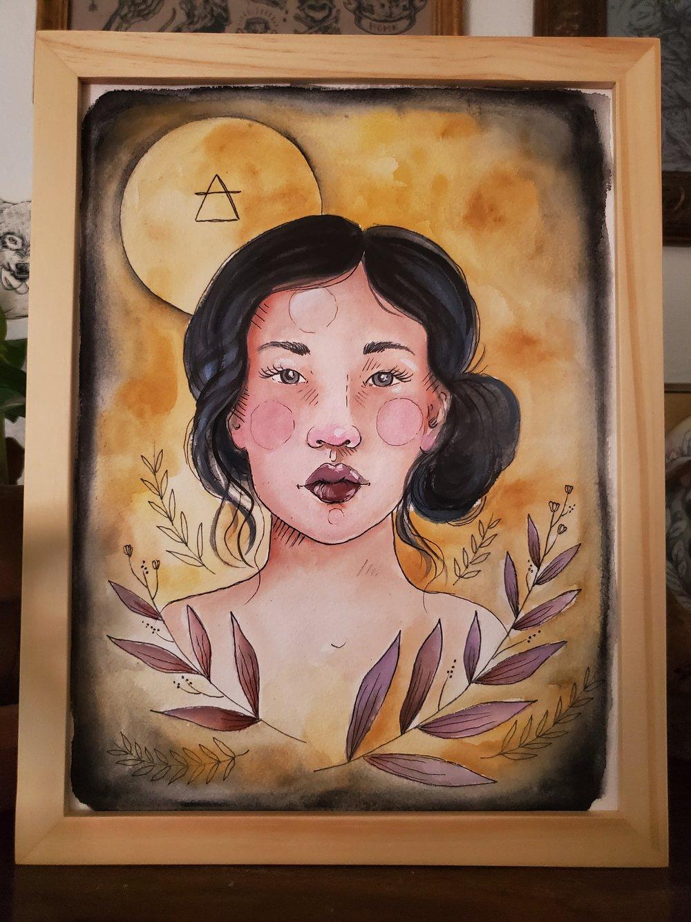 Image of Air Element Girl Original