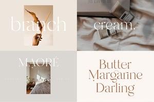 Image of Modern Font Bundle