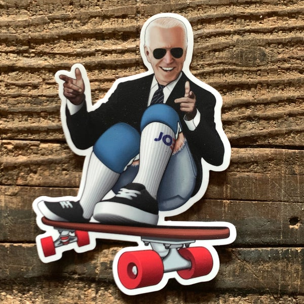 Image of Joe Grindin' Sticker