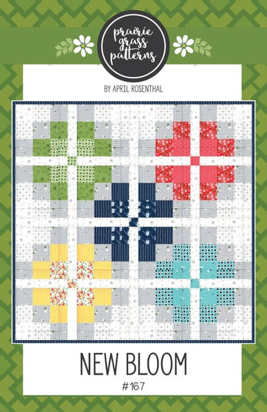 Image of New Bloom Paper Quilt Pattern