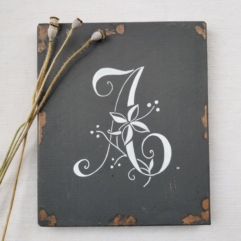 Image of A C E F - Monogram Boards