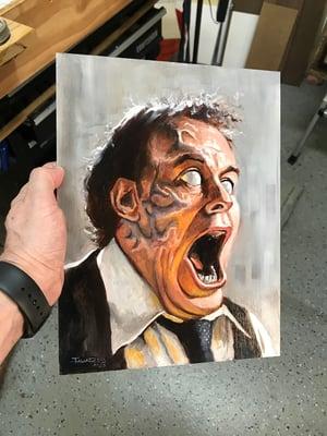 "Image of ""Portrait of Darryl Revok"" (inspired by David Cronenberg's ""Scanners"")"