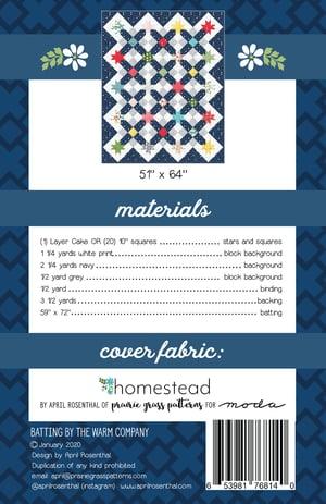 Image of Starway Paper Quilt Pattern
