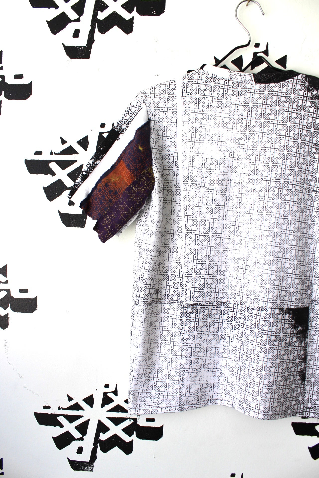 Image of we really all over cut and sew tee