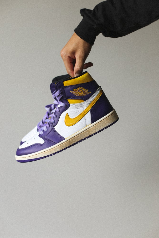 Image of Jordan retro 1 '85 Lakers