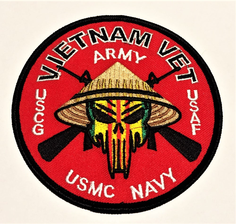 Image of Vietnam Veteran All Branches Patch
