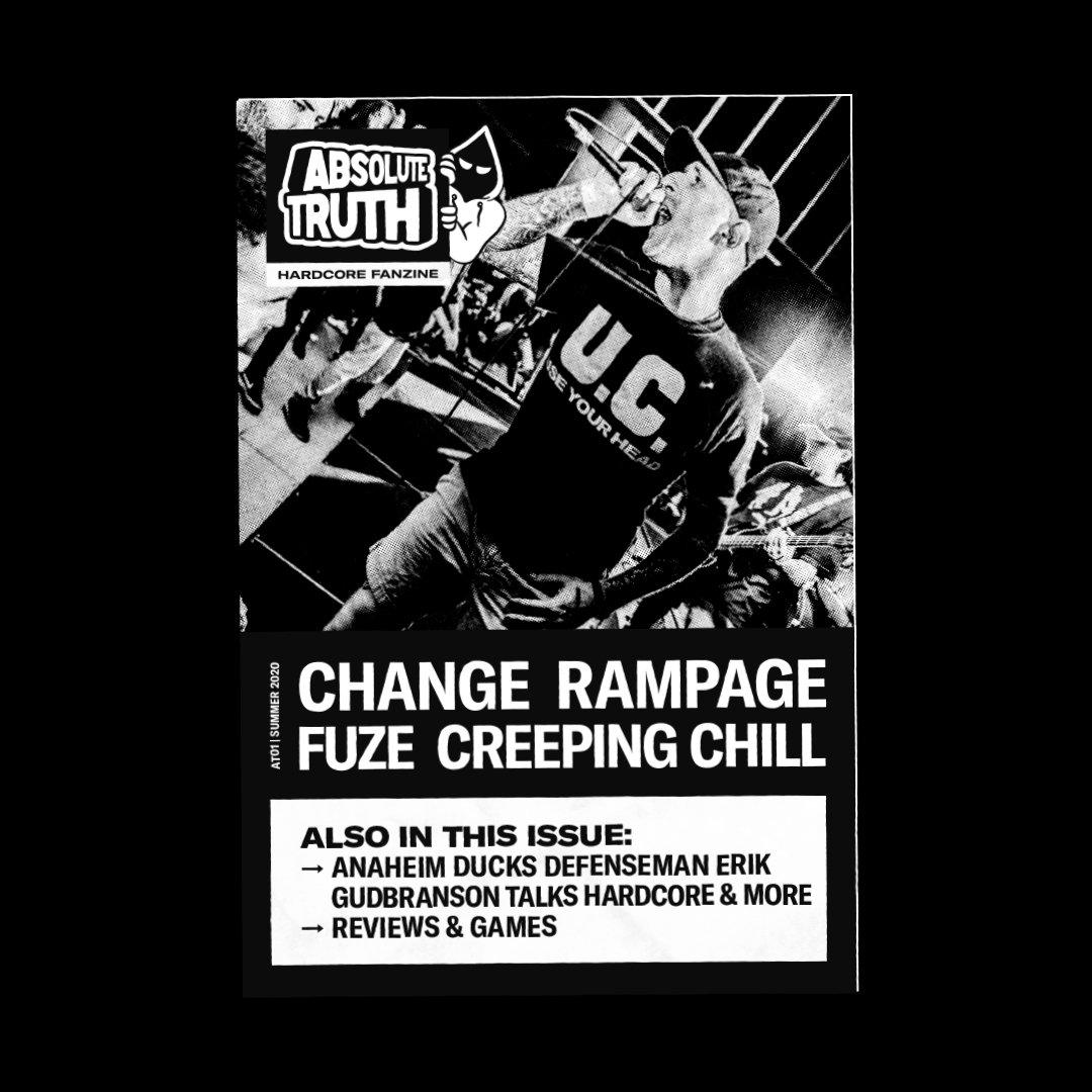 Absolute Truth Hardcore Fanzine Issue 1