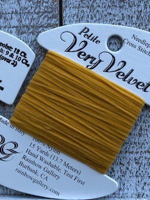 Image of Petite Very Velvet - Yellows