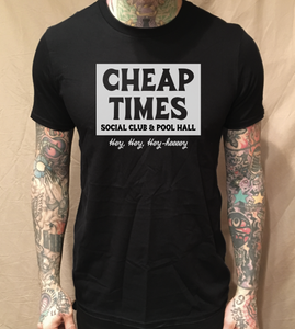 Image of CHEAP TIMES BLACK TEE