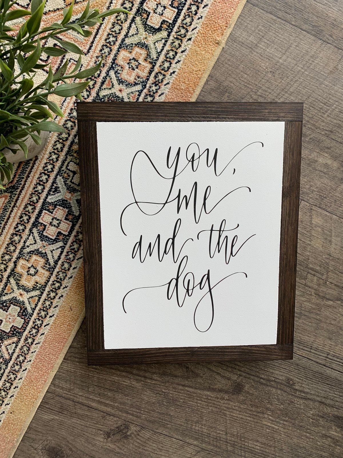 Image of You,me,dog