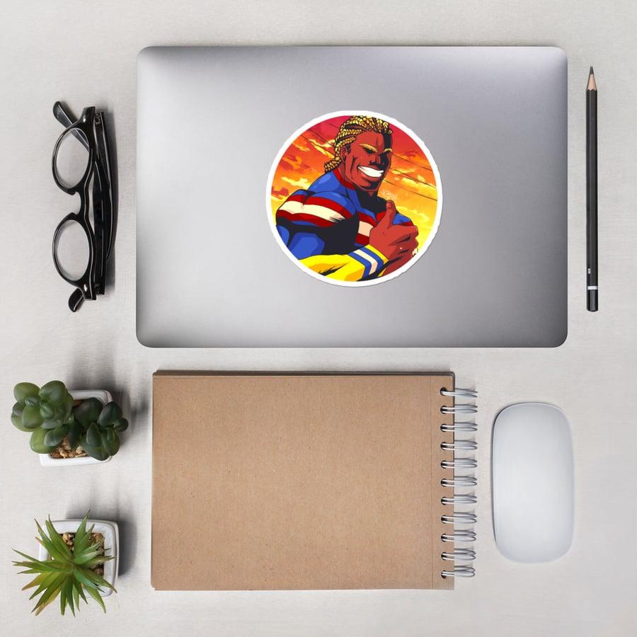 "Image of ''Plus Ultra"" Sticker"