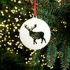 Wooden Christmas Decorations - Stag