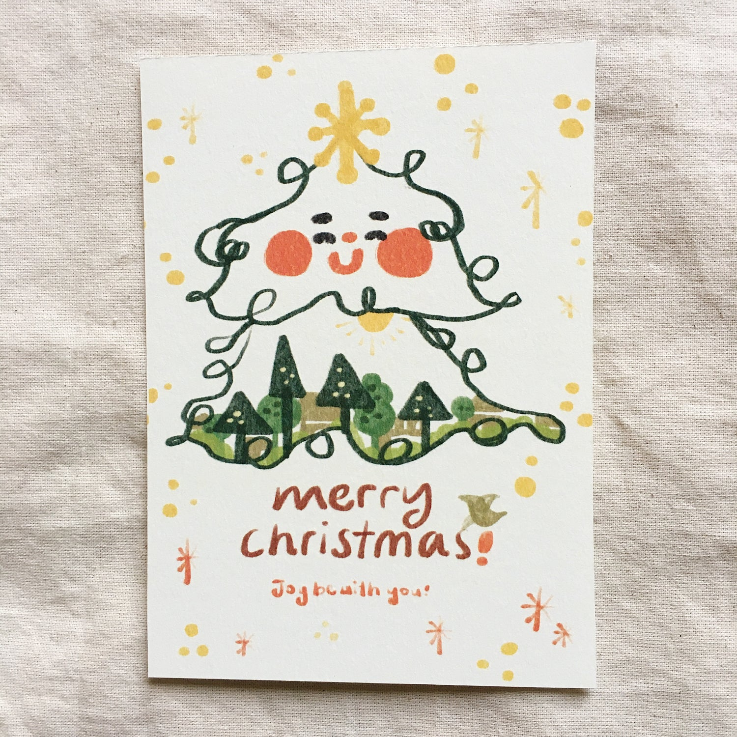 Christmas Special: A Joyful Forest Christmas Card