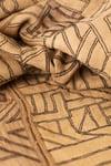 Antique Kuba Handwoven Raffia cloth