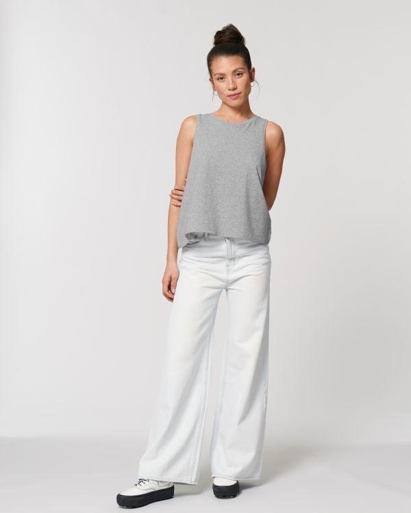 Image of SHANTI SHANTI SHANTI – Top Grey
