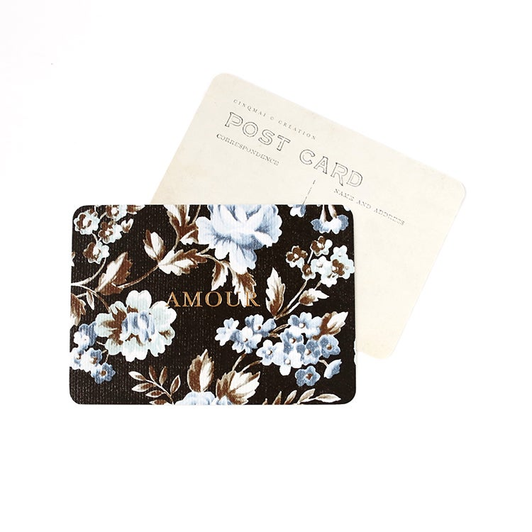 Image of Carte Postale AMOUR / DORÉ / JADE
