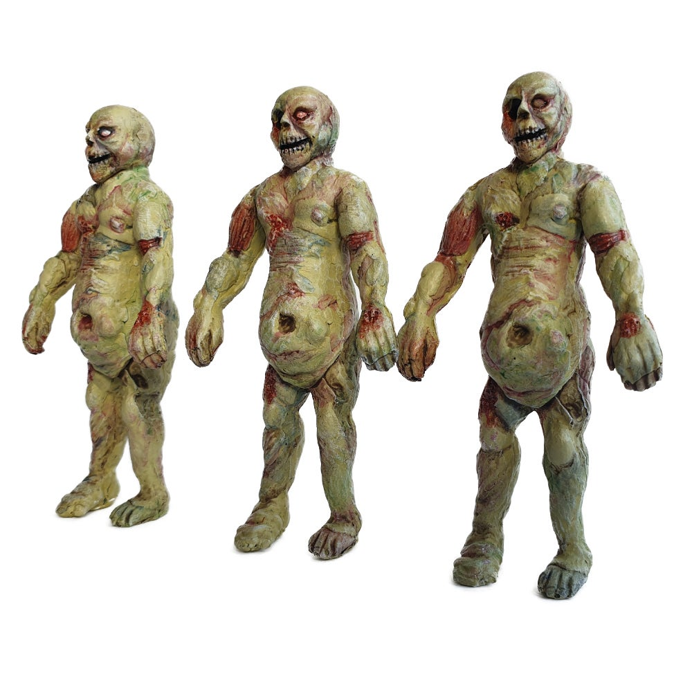 The Unclaimed Dead: Bloater 0.1 - Resin Art Toy