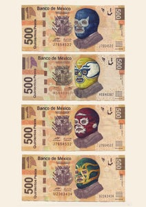 Image of LUCHA LUCRE Print