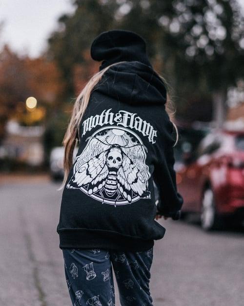 Image of Youth Moth hoodies