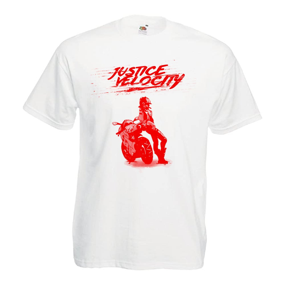 RED Motorcycle Maven JV T-Shirt