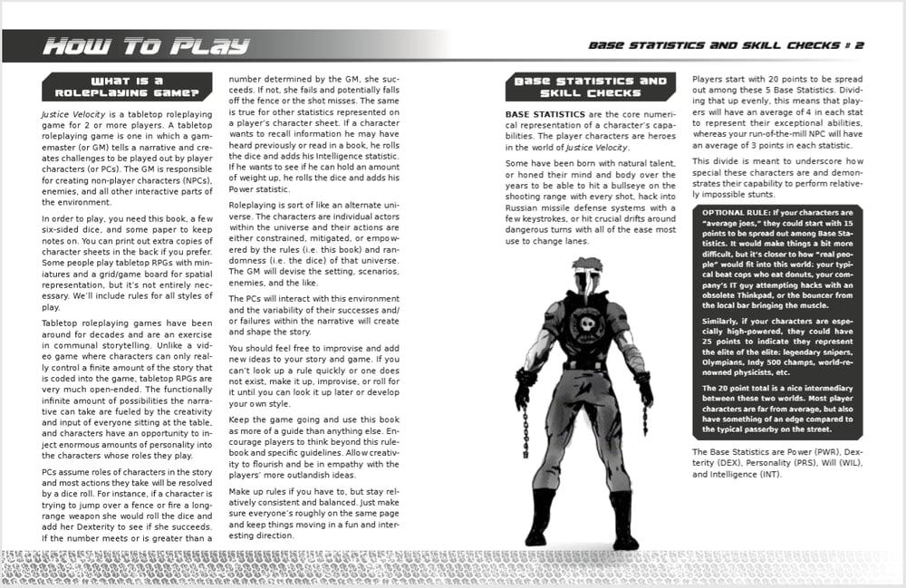 Justice Velocity Book + PDF