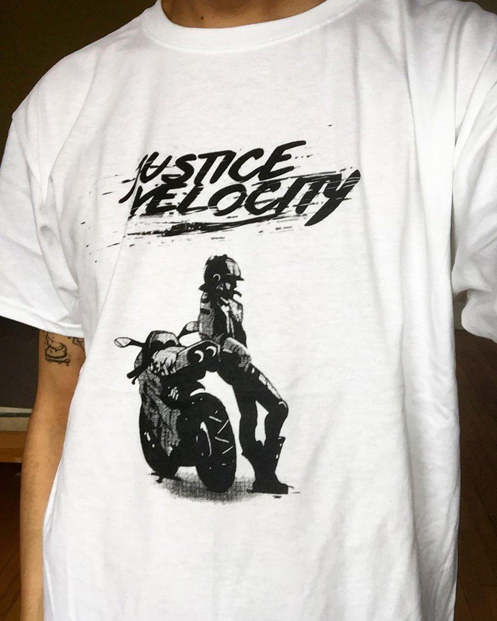 Black Motorcycle Maven JV T-Shirt