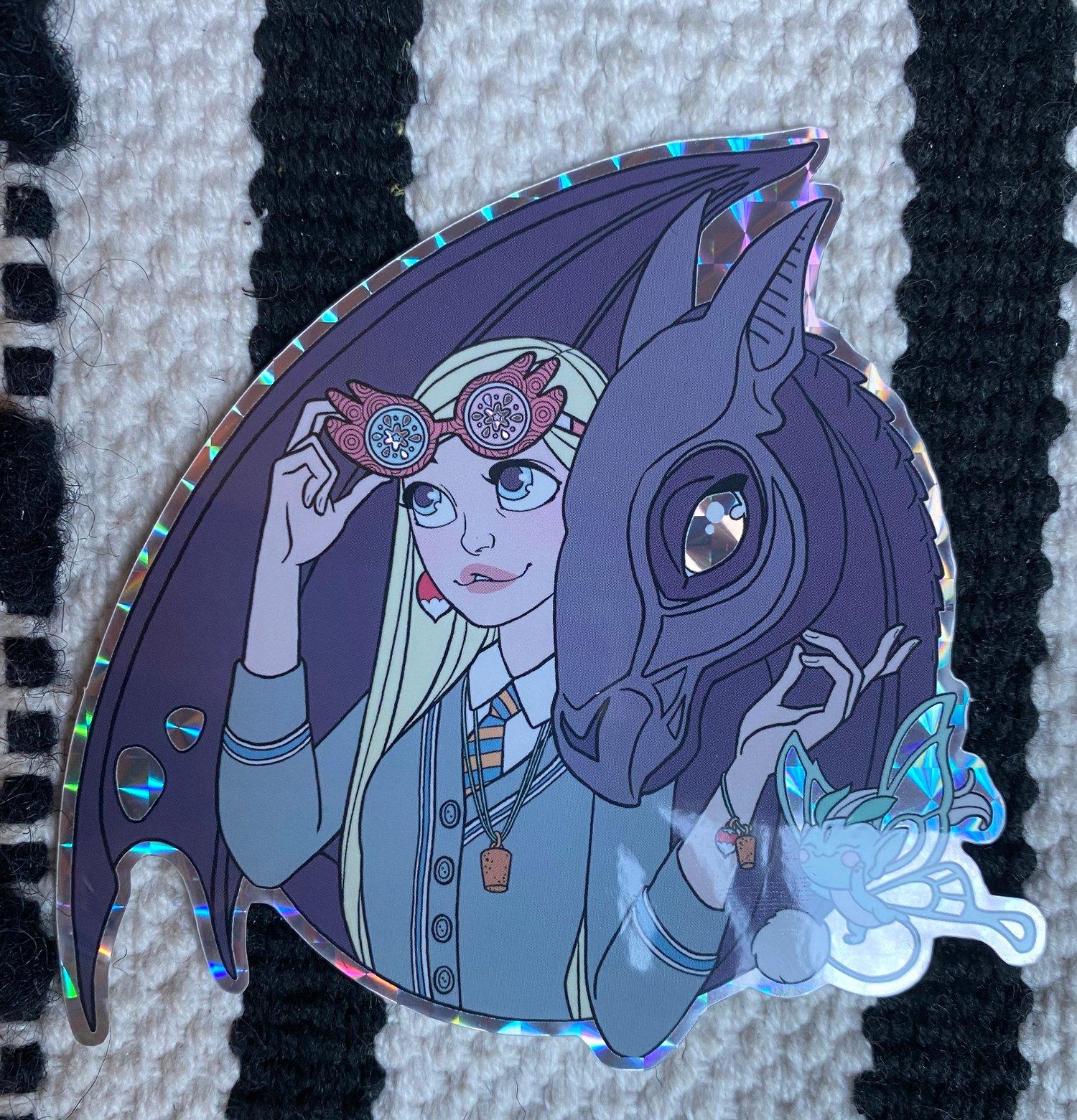 iSeeNaargles Prismatic Sticker