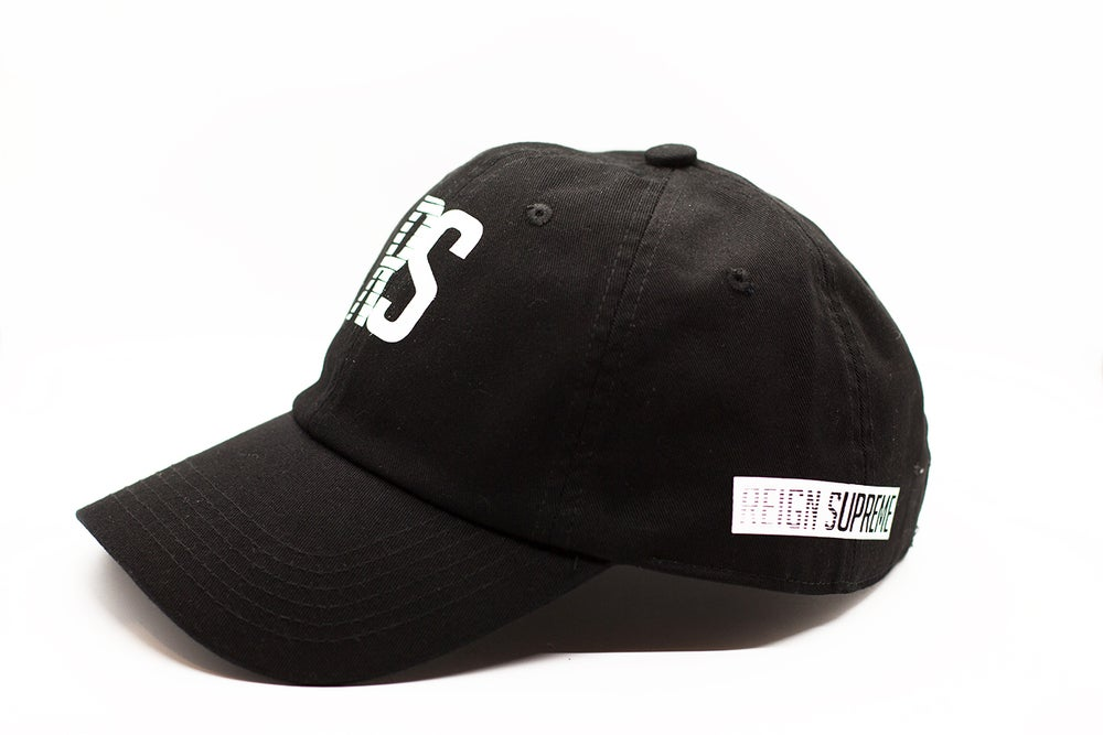 "Image of RS Speedway ""Dad Hat"" - Black"